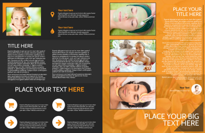 Creative Beauty Spa Brochure Template Preview 2