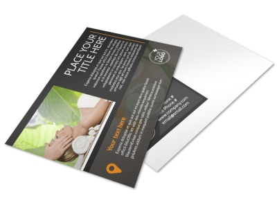 Creative Beauty Spa Postcard Template 2 preview