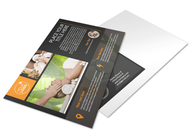 Creative Beauty Spa Postcard Template Preview 4