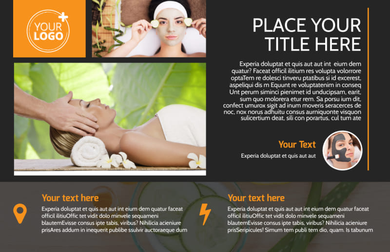 Creative Beauty Spa Postcard Template Preview 2