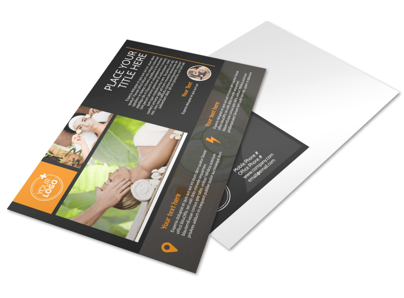 Creative Beauty Spa Postcard Template Preview 1