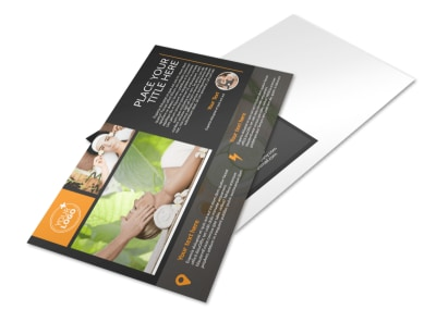 Creative Beauty Spa Postcard Template preview