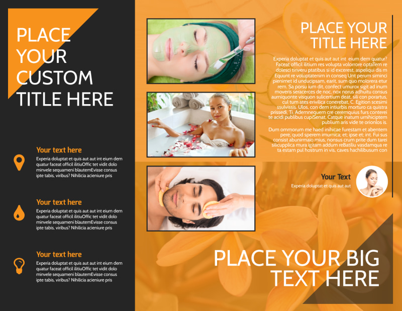 Creative Beauty Spa Brochure Template Preview 3