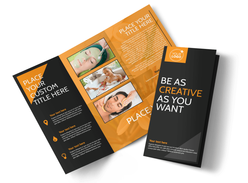 Creative Beauty Spa Brochure Template Preview 1