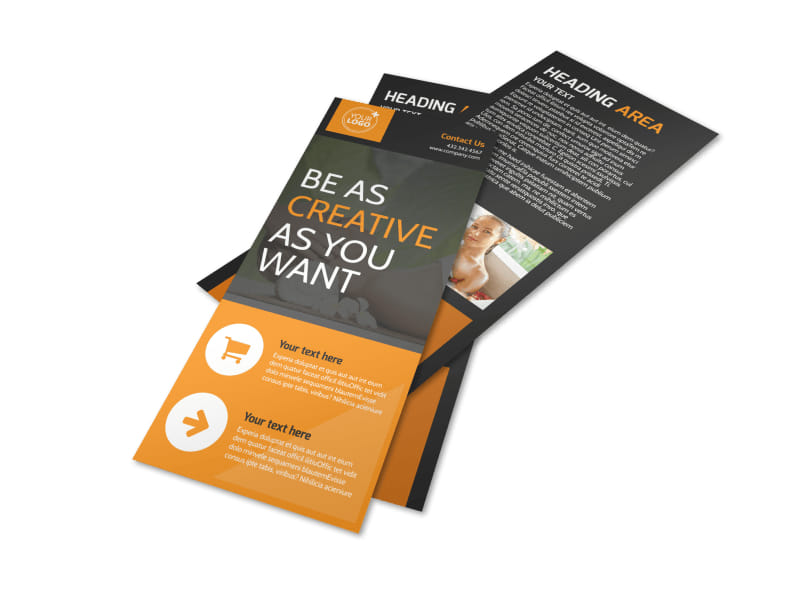 Creative Beauty Spa Flyer Template 2