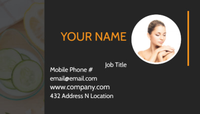 Creative Beauty Spa Business Card Template Preview 1