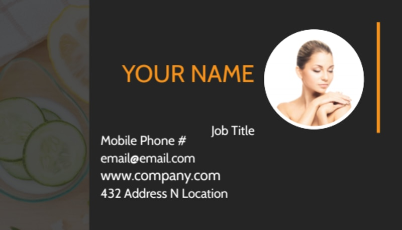 Creative Beauty Spa Business Card Template Preview 2