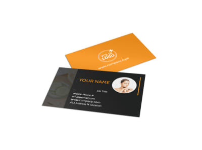 Creative Beauty Spa Business Card Template preview