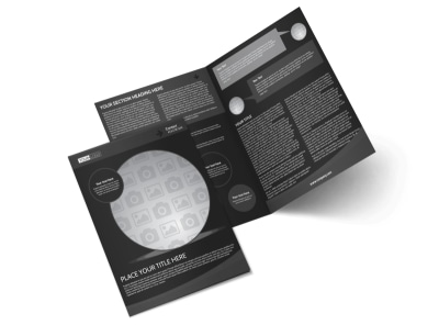 Generic Bi-Fold Brochure Template 11327