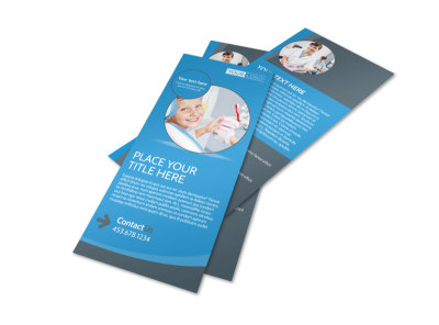 Dental Care Clinic Flyer Template 2