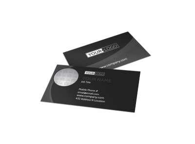 Generic Business Card Template 11335