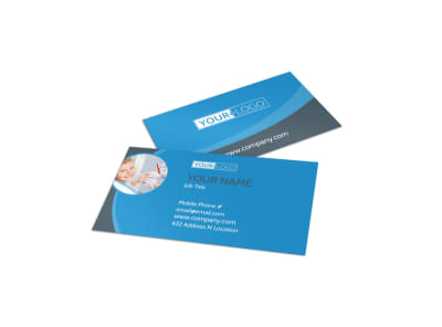 Dental Care Clinic Business Card Template preview