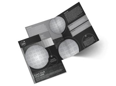 Generic Bi-Fold Brochure Template 11336