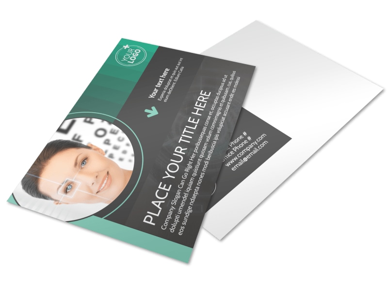 Clear Vision Care Postcard Template 2