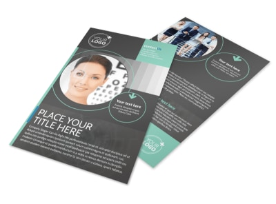 Clear Vision Care Flyer Template 3