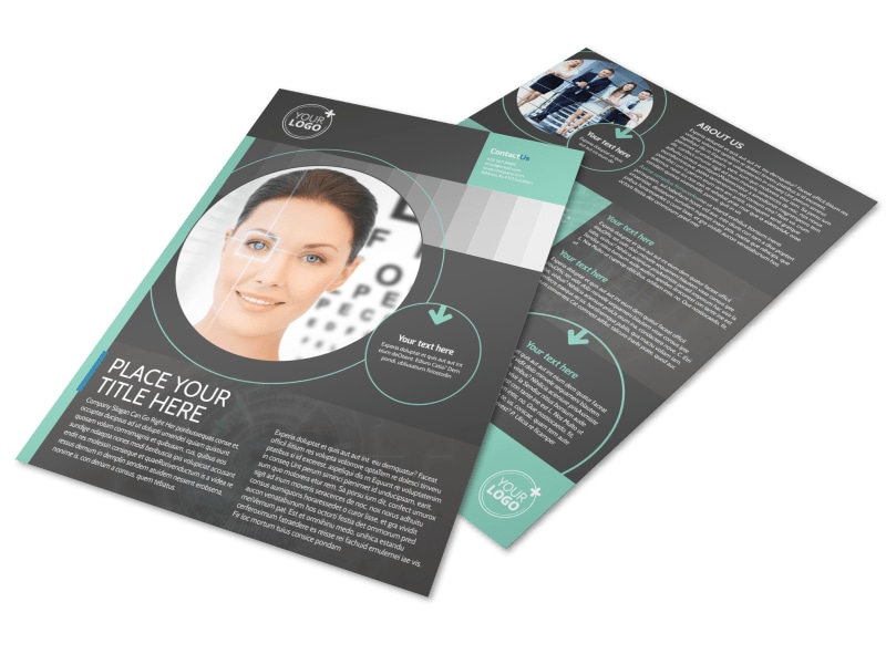 Clear Vision Care Flyer Template Preview 4