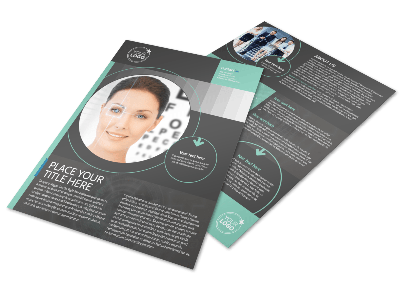 Clear Vision Care Flyer Template Preview 1