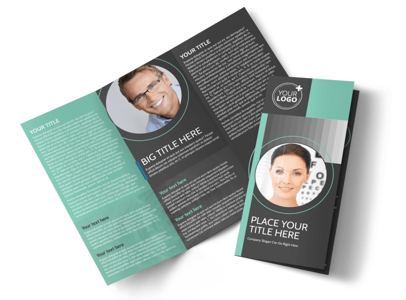 Clear Vision Care Tri-Fold Brochure Template