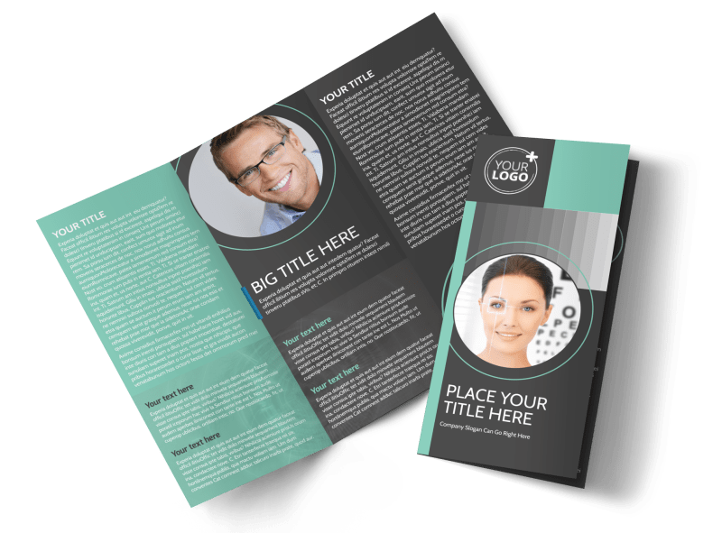 Clear Vision Care Brochure Template Preview 1