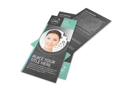 Clear Vision Care Flyer Template 2