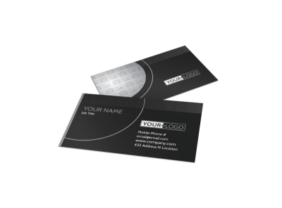 Generic Business Card Template 11344 preview