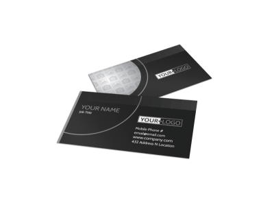 Generic Business Card Template 11344