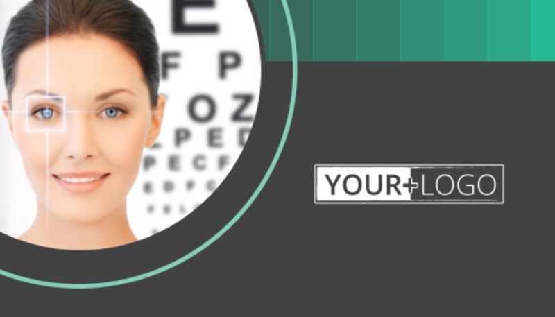 Clear Vision Care Business Card Template Preview 3