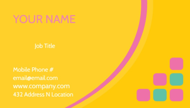Fun Daycare Service Business Card Template Preview 2