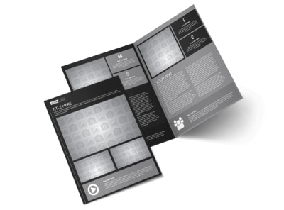 Generic Bi-Fold Brochure Template 11354