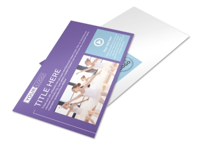 Top Dance School Postcard Template 2 preview