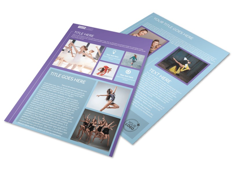 Top Dance School Flyer Template