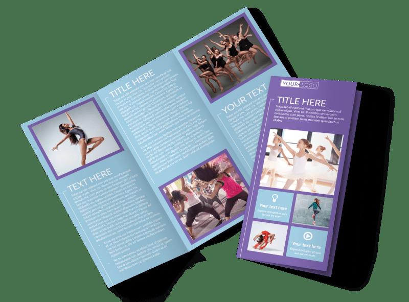 Top Dance School Brochure Template Preview 1