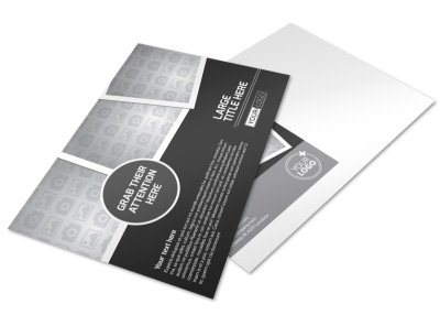 Generic Postcard Template 11366 preview