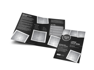 Generic Bi-Fold Brochure Template 11367 preview