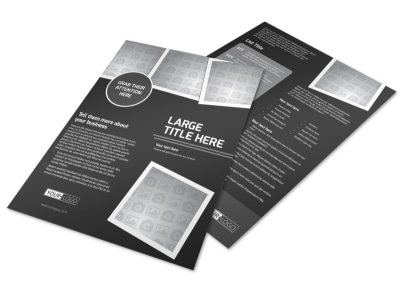 Generic Flyer Template 11368