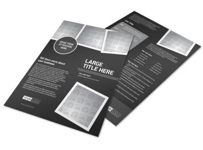 Generic Flyer Templates | MyCreativeShop