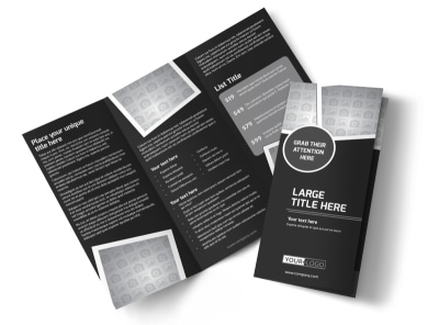 Generic Tri-Fold Brochure Template 11369
