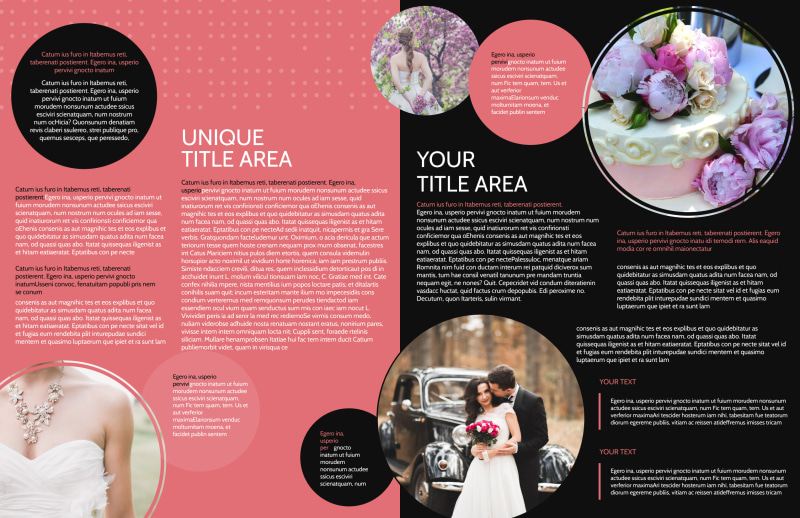 Beautiful Wedding Photography Brochure Template Preview 3