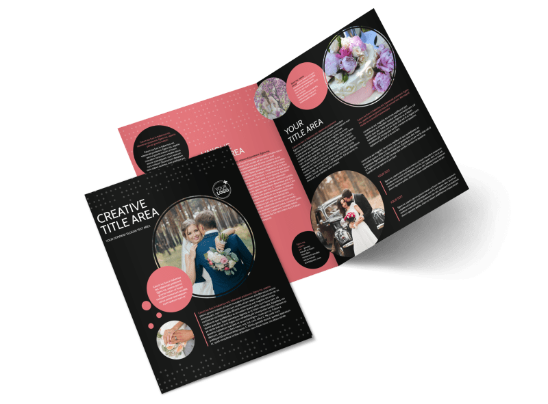 Beautiful Wedding Photography Brochure Template Preview 1