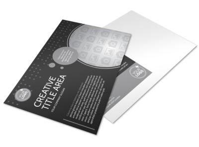 Generic Postcard Template 11376