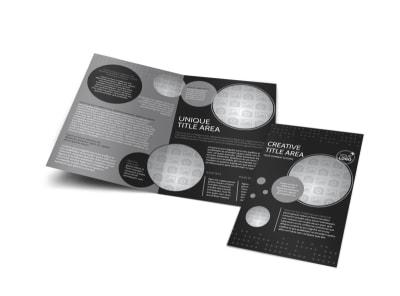 Generic Bi-Fold Brochure Template 11377