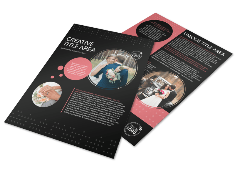 Beautiful Wedding Photography Flyer Template Preview 1