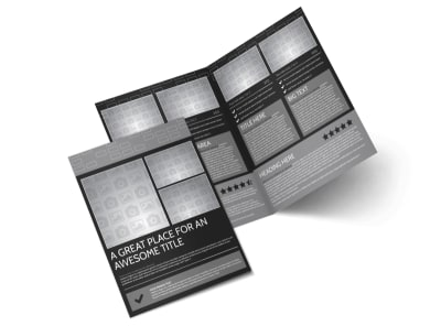 Generic Bi-Fold Brochure Template 11381