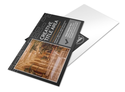 Only The Best Hotels Postcard Template 2 preview