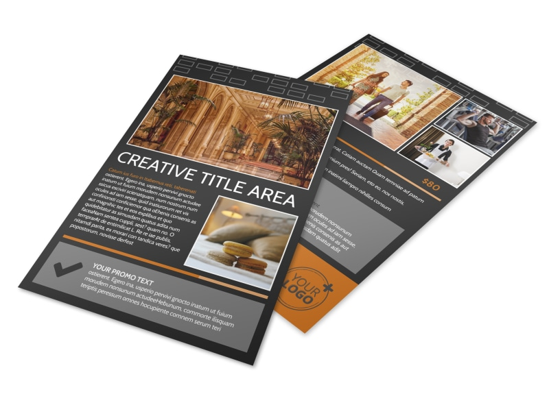 Only The Best Hotels Flyer Template 3