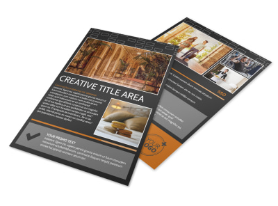 Only The Best Hotels Flyer Template 3 preview