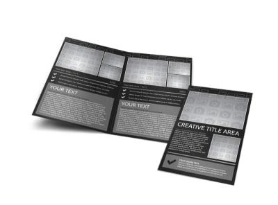 Generic Bi-Fold Brochure Template 11385