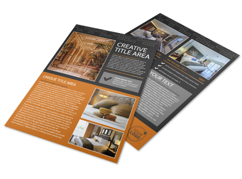 Only The Best Hotels Flyer Template