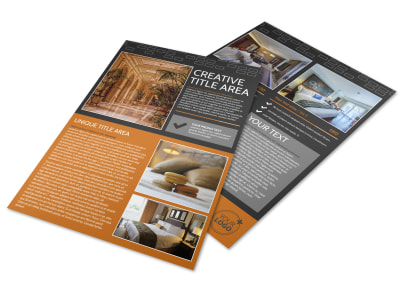 Only The Best Hotels Flyer Template preview