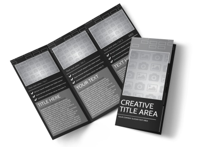 Generic Tri-Fold Brochure Template 11387